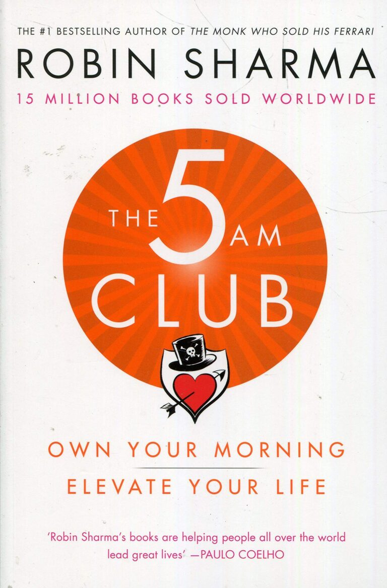 [BOOK REVIEW] The 5 AM Club by Robin Sharma